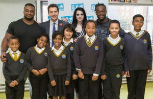 Edward Timpson, WWE and school children