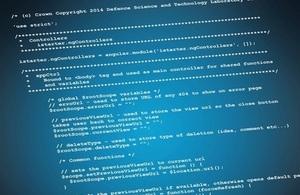 Dstl coding on Github