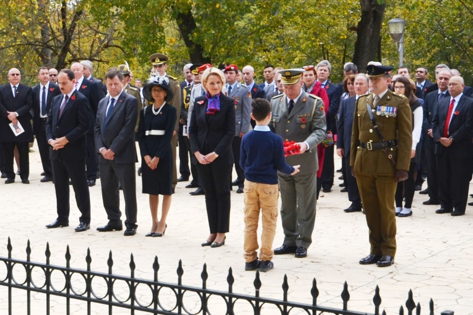 Remembrance Day 2014 in Albania