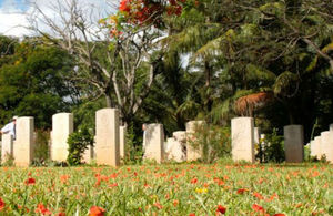 Commonwealth War Graves in Dar es Salaam- Tanzania