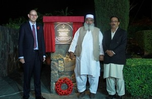 World War 1 commemorative plaque unveiled in Islamabad