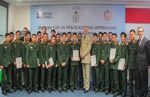 Group Captain Tim Below RAF, UK Defence Attaché to Vietnam