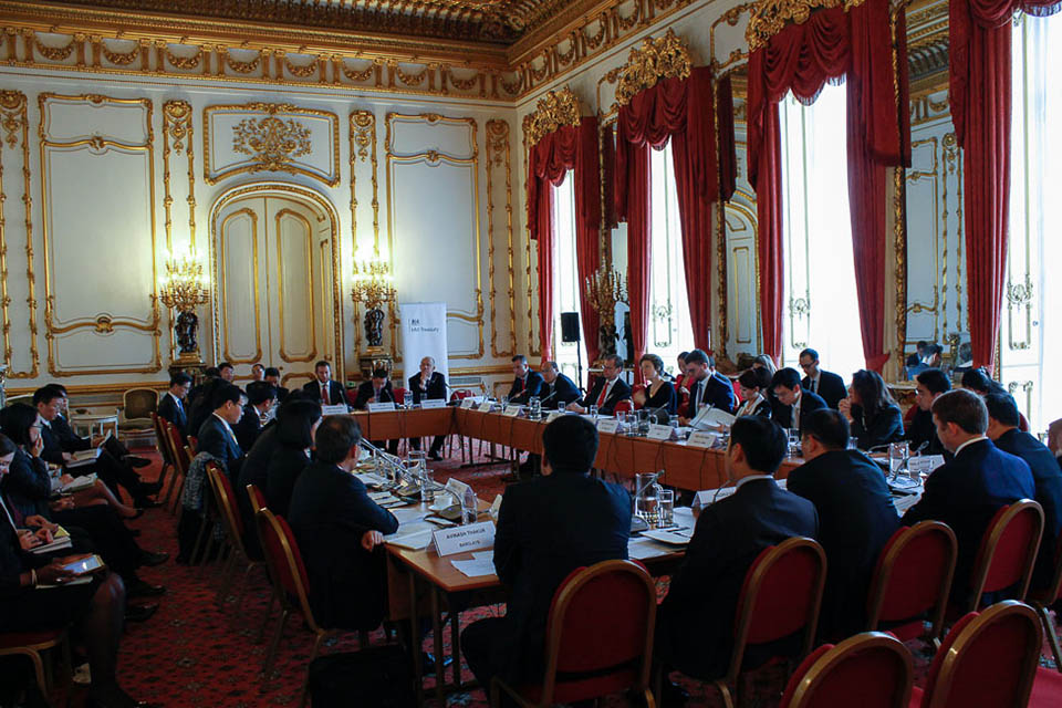 London-Hong Kong RMB Forum meeting at Lancaster House