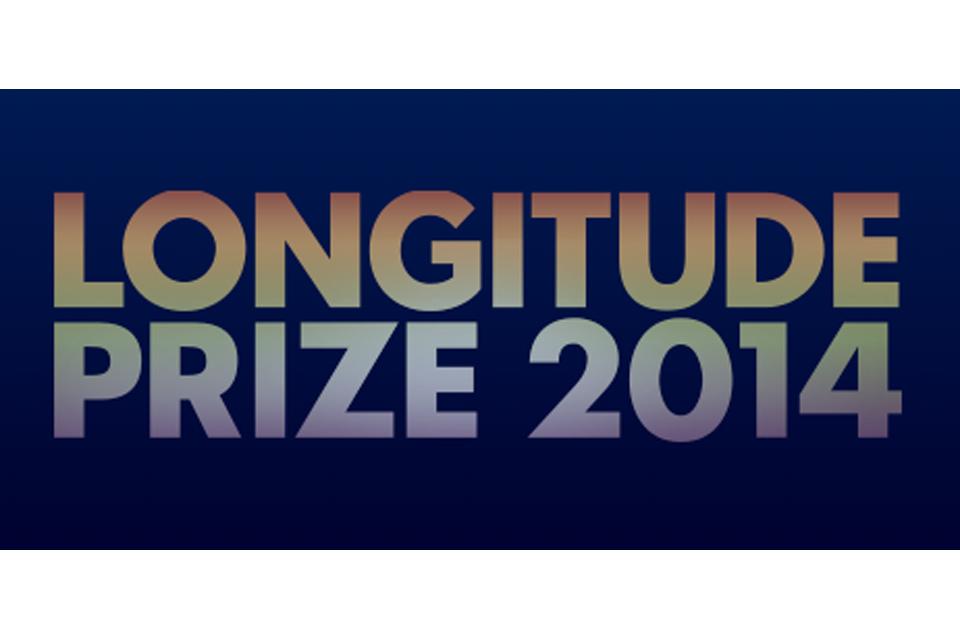 Longitude Prize 2014 logo