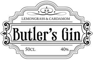 Butlers Gin logo