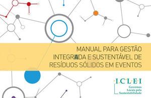 Reprodução Capa do Manual de Gestão Sustentável de Resíduos em Eventos
