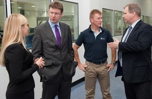 Science Minister's visit to Airbus