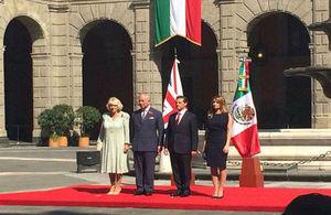 Visita Real en México