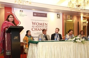 Women as agents of change