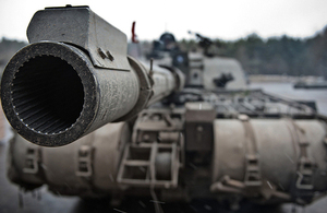 A Challenger 2 Tank (library image) [Picture: Ross Fernie RLC, Crown copyright]