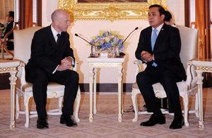 British Ambassador calls on PM General Prayuth