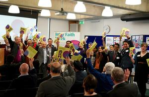 Inter Faith Week 2014 launch