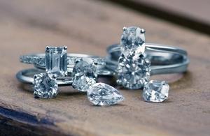 Rare Pink diamond rings