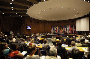 Presentation of The New Climate Report at ECLAC.