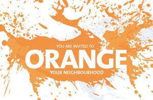 """La campaña global UNiTE de las Naciones Unidas para """"Pintar el Mundo de Naranja en 16 días"""""""