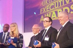UKTI 2014 Chief Executive Award