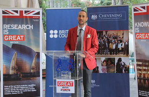 Andrew Chadwick, Director of the British Council.
