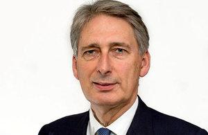 Ministro de Relaciones Exteriores británico, Philip Hammond.