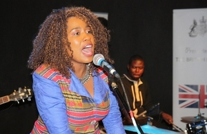 Cynthia Mare sings her new track Moto Ngaubvire
