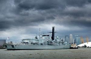 HMS St Albans visiting London [Picture: Leading Airman (Photographer) Chris Wenham, Crown copyright]