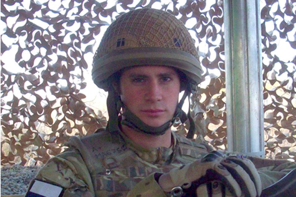 Corporal Daniel Mark