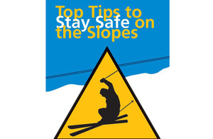 """Stay safe on the slopes"" campaign"