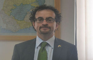 British High Commissioner Jon Benjamin