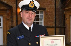 Coastguard Rescue Officer Simon Bale