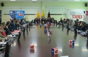 Consular event with ECU 911