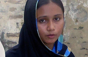 Faryal is one of nearly 650,000 girls attending low-cost private schools in Punjab and getting a free education. Picture: Punjab Education Foundation