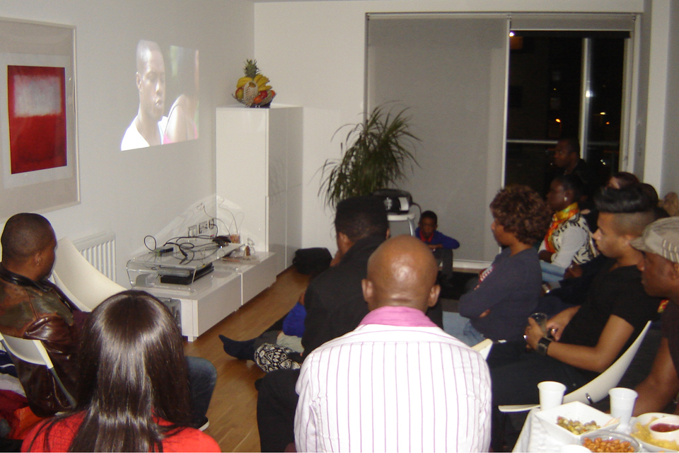 Family legacy film viewing at home: sickle cell awareness