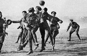 1914 football truce between the British and the Germans