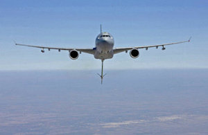 Copyright Airbus: the RAF's Airbus tanker aircraft