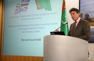 Lord Sebastian Coe