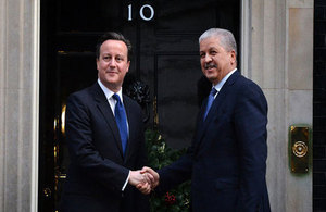 PM meets PM Sellal of Algeria