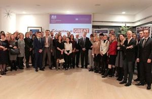 Past Chevening Scholars in Croatia celebrated the 30th anniversary of the UK Government Chevening Scholarship
