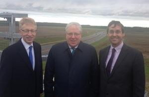 A11 dual carriageway opens