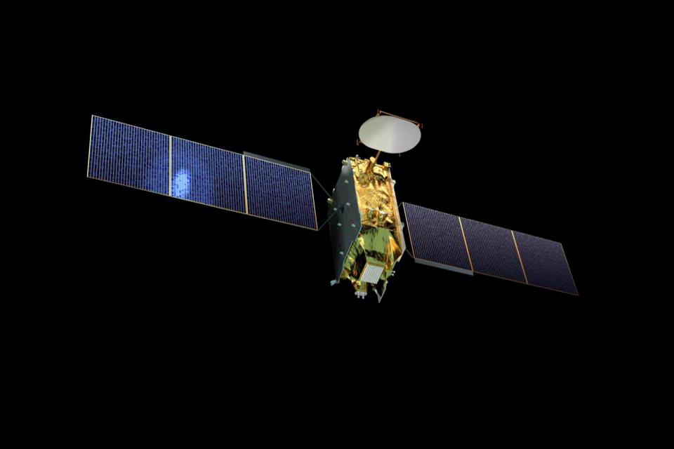 Eutelsat Quantum class satellite