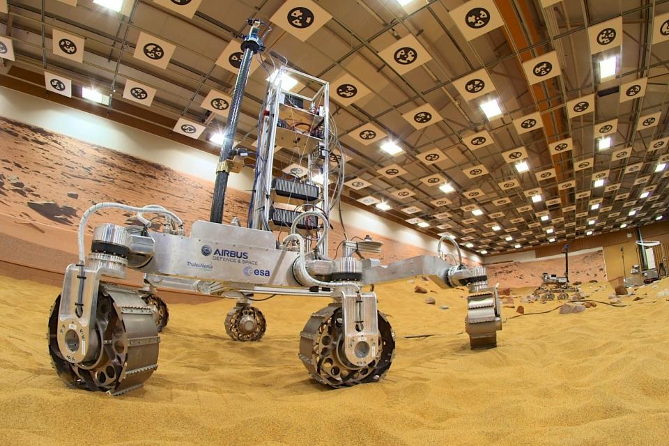 Prototype ExoMars Rover