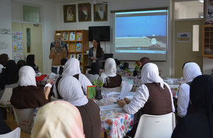 Students in Bahrain discover the aerospace engineering with BAE Systems