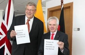 Ambassador Mullee and Ambassador Olbrich
