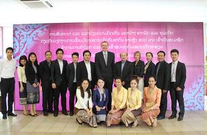 Ambassador Philip Malone with forum participants