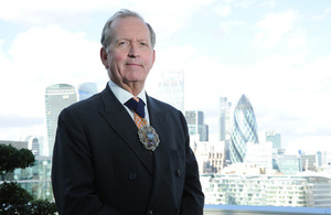Lord Mayor of the City of London, Alderman Alan Yarrow