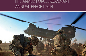 The Armed Forces Covenant Annual Report has been presented to Parliament [Picture: Crown copyright]