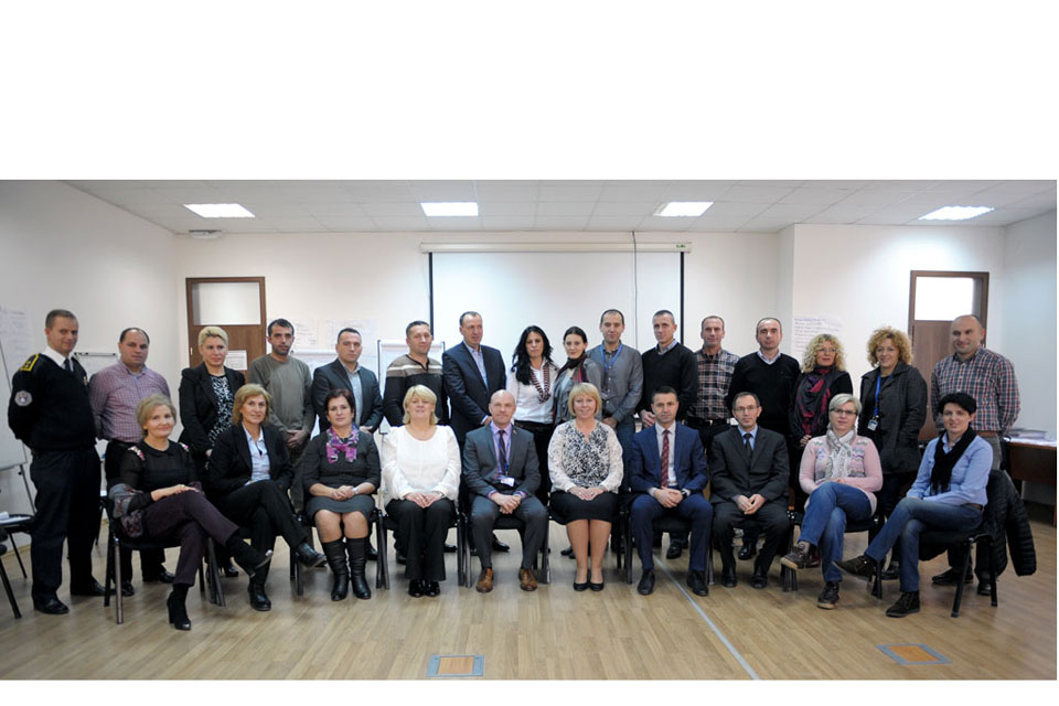 Vulnerable Victims Training delivered to Kosovo Police and Prosecutors
