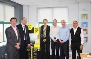 Lewis Scott visited Sussex based manufacturer, Aspen Pumps