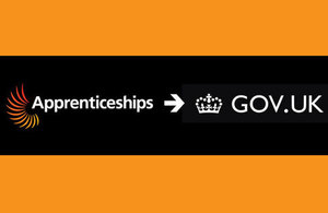 Apprenticeships information now on GOV.UK