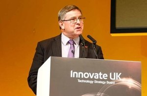 Image of Iain Gray, Chief Executive of Innovate UK