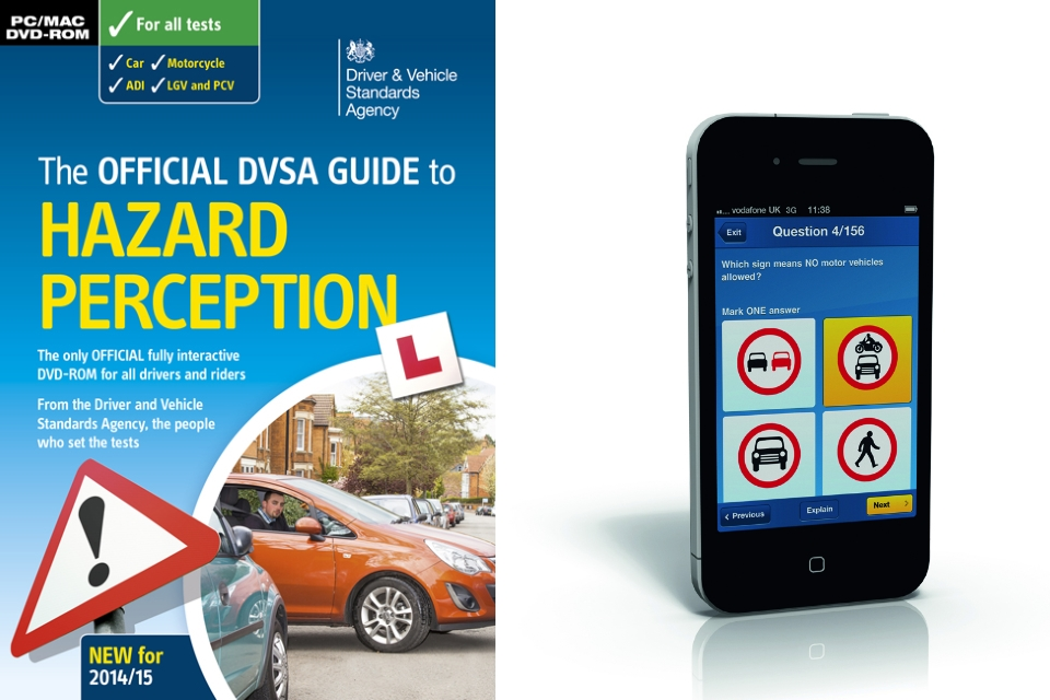 Official DVSA learning materials