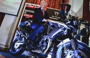 Innovation is GREAT with Triumph Motorcycles Japan
